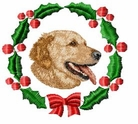 golden4wreath Holiday Designs (small or large design)