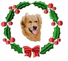golden5wreath Holiday Designs (small or large design)