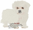 malt009 Maltese (small or large design)
