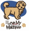malt011 Maltese (small or large design)