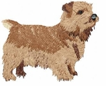 norwich003 Norwich Terrier (small or large design)