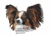 pap003 Papillon (small or large design)