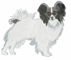 pap005 Papillon (small or large design)