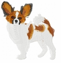 pap008 Papillon (small or large design)