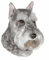 schn001 Schnauzer (small or large design)