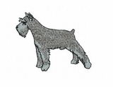 schn005 Schnauzer (small or large design)