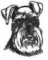 schn006 Schnauzer (small or large design)
