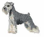 schn007 Schnauzer (small or large design)