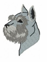 schn009 Schnauzer (small or large design)