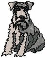 schn010 Schnauzer (small or large design)