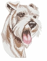 schn013 Schnauzer (small or large design)