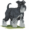 schn015 Schnauzer (small or large design)