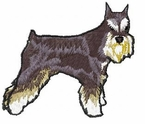 schn020 Schnauzer (small or large design)