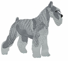 schn021 Schnauzer (small or large design)