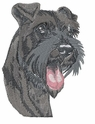 schn025 Schnauzer (small or large design)
