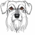schn026 Schnauzer (small or large design)