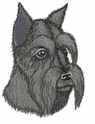 schn027 Schnauzer (small or large design)