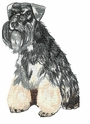 schn028 Schnauzer (small or large design)