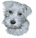 schn029 Schnauzer (small or large design)