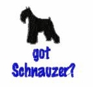 schn031  Schnauzer(small or large design)