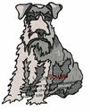 schnauzer010 Schnauzer (small or large design)
