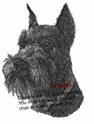 schnauzer030 Schnauzer (small or large design)