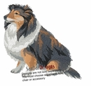 sheltie001 Shetland Sheepdog (Sheltie) (small or large design)