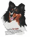 sheltie002 Shetland Sheepdog (Sheltie) (small or large design)