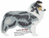 sheltie003 Shetland Sheepdog (Sheltie) (small or large design)