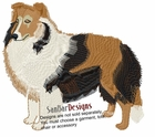 sheltie005 Shetland Sheepdog (Sheltie) (small or large design)