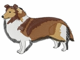 sheltie007 Shetland Sheepdog (Sheltie) (small or large design)