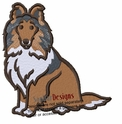 sheltie009 Shetland Sheepdog (small or large design)