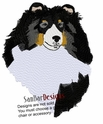 sheltie024 Shetland Sheepdog (Sheltie) (small or large design)
