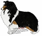 sheltie026 Shetland Sheepdog (Sheltie) (small or large design)