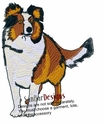 sheltie027 Shetland Sheepdog (Sheltie) (small or large design)