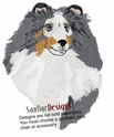 sheltie032 Shetland Sheepdog (Sheltie) (small or large design)