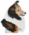 sheltie034 Shetland Sheepdog (Sheltie) (small or large design)