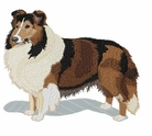 sheltie043 Shetland Sheepdog (Sheltie) (small or large design)