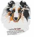 sheltie048 Shetland Sheepdog (Sheltie) (small or large design)