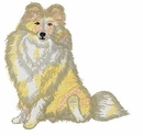 sheltie052 Shetland Sheepdog (Sheltie) (small or large design)