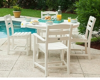 Polywood La Casa Cafe Patio Chairs