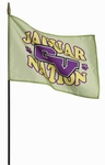 "12"" X 18"" Custom Stick Flags"