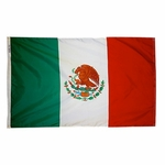 "12"" X 18"" Nylon Mexico Flag"
