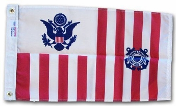 "15"" X 24"" USCG Ensign"