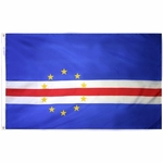 2' X 3' Nylon Cape Verde Flag