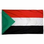 2' X 3' Nylon Sudan Flag