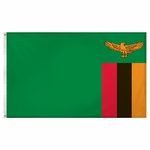 2' X 3' Nylon Zambia Flag