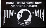 3' X 5'  Bring Them Home POW-MIA Flag