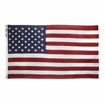 3' X 5' Bulldog Cotton U.S. Flag