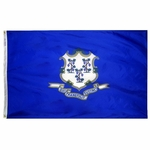 3' X 5' Nylon Connecticut State Flag